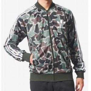 Adidas originals Men's Camo Superstar Track Jacket